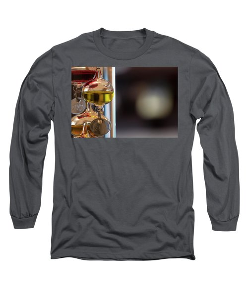 Long Sleeve T-Shirt featuring the photograph Galileo Thermometer by Jeremy Lavender Photography