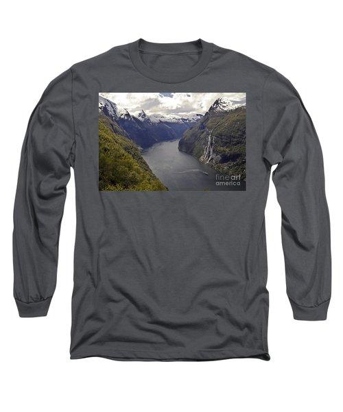 Geiranger Fjord Long Sleeve T-Shirt