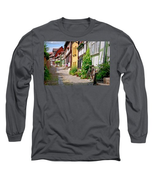 German Old Village Quedlinburg Long Sleeve T-Shirt