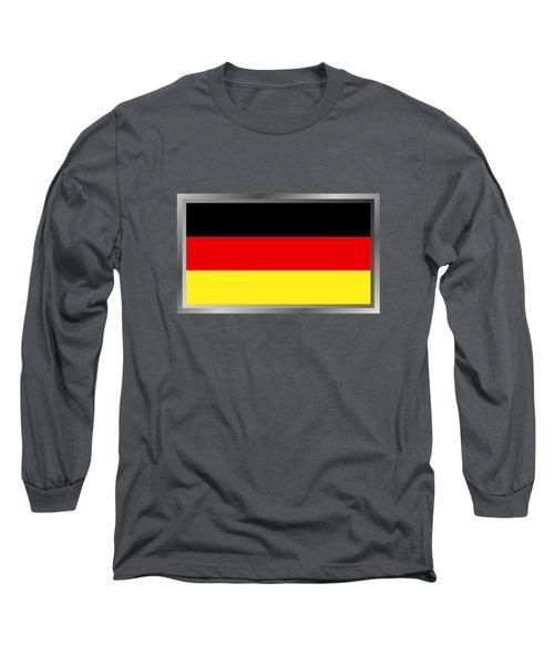 Germany Flag Long Sleeve T-Shirt