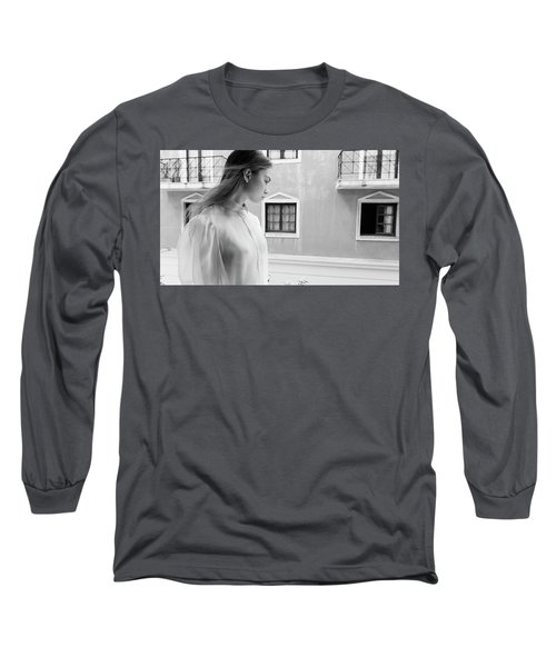 Girl In Profile Long Sleeve T-Shirt