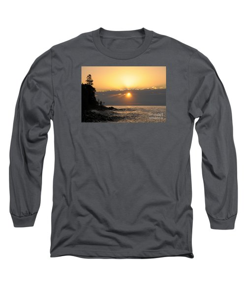 Long Sleeve T-Shirt featuring the photograph Golden Glow by Sandra Updyke