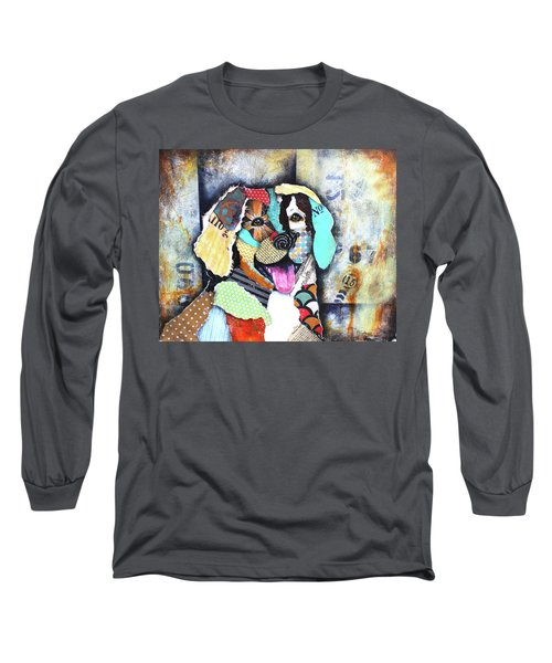 Golden Retriever Long Sleeve T-Shirt by Patricia Lintner