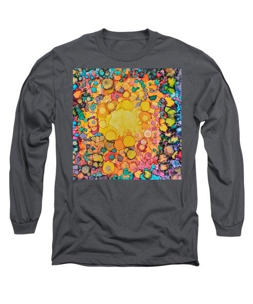 Happy Explosion Long Sleeve T-Shirt