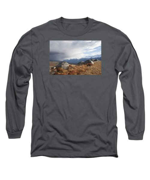 High Country In Fall Long Sleeve T-Shirt by Michele Cornelius