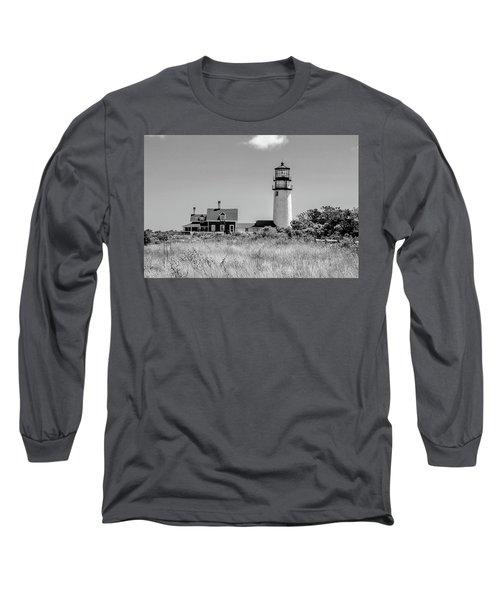 Highland Light - Cape Cod Long Sleeve T-Shirt by Peter Ciro