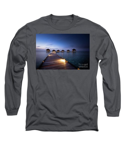 Long Sleeve T-Shirt featuring the photograph Honeymooners Paradise by Hannes Cmarits