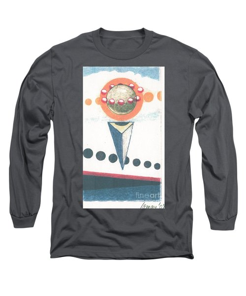 Long Sleeve T-Shirt featuring the drawing Idea Ismay by Rod Ismay