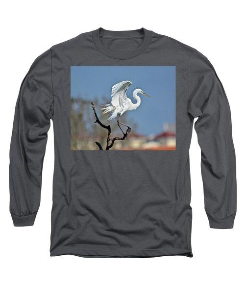 I'll Fly Away Long Sleeve T-Shirt by Carol Bradley