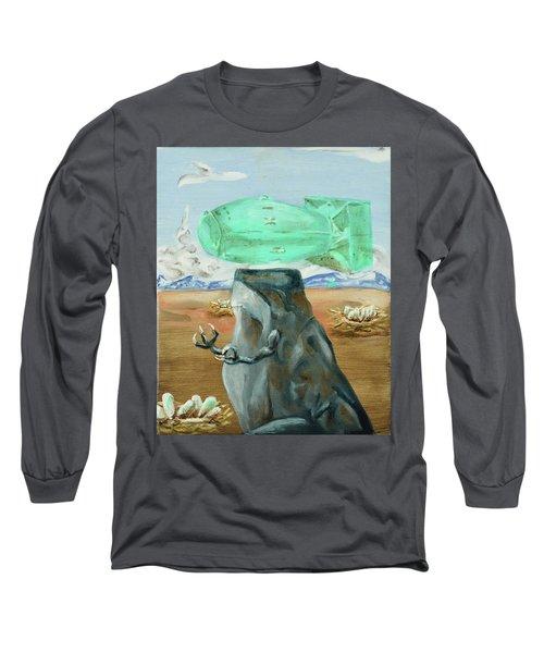 Incubator Of Anxiety Long Sleeve T-Shirt