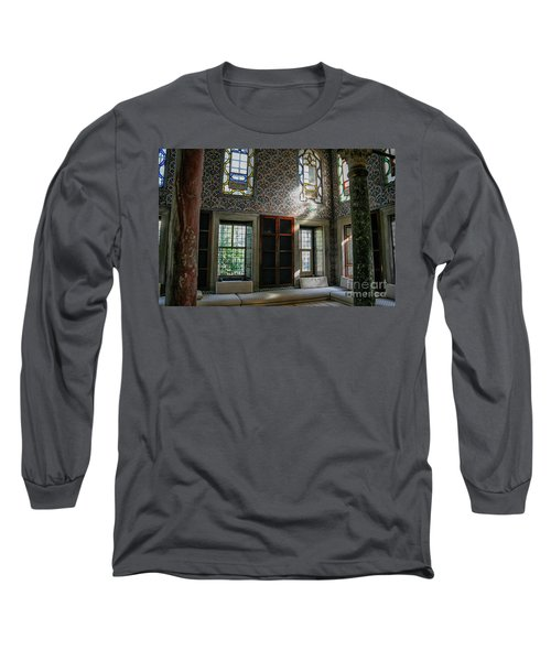 Inside The Harem Of The Topkapi Palace Long Sleeve T-Shirt by Patricia Hofmeester