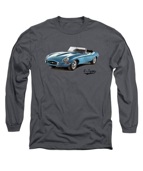 Jaguar E-type Long Sleeve T-Shirt