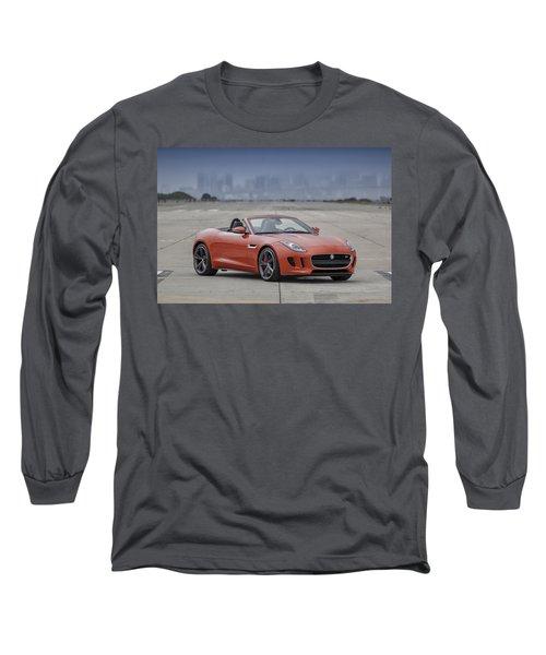 Jaguar F-type Convertible Long Sleeve T-Shirt