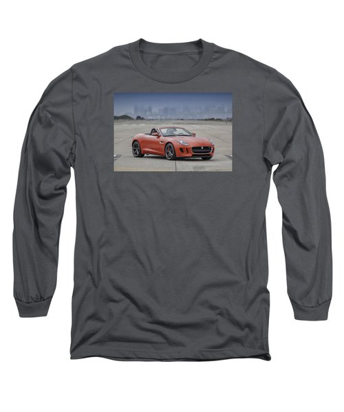 Jaguar F-type Convertible Long Sleeve T-Shirt