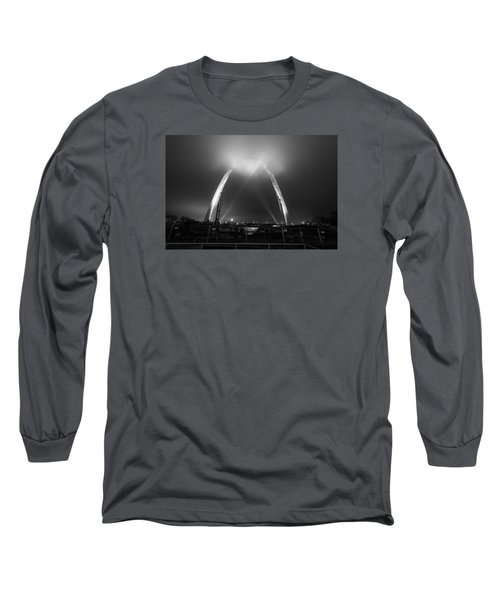 Jefferson Expansion Memorial Gateway Arch Long Sleeve T-Shirt