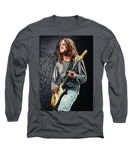 John Frusciante Long Sleeve T-Shirt by Taylan Apukovska