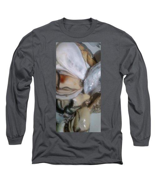 Oysters In Ponzu Vinegar Long Sleeve T-Shirt