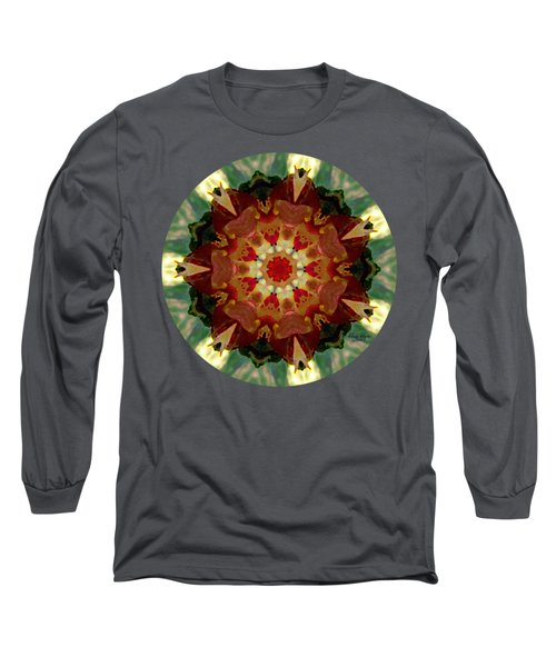 Kaleidoscope - Warm And Cool Colors Long Sleeve T-Shirt