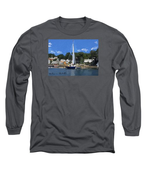 Kanga In Lobster Cove Long Sleeve T-Shirt