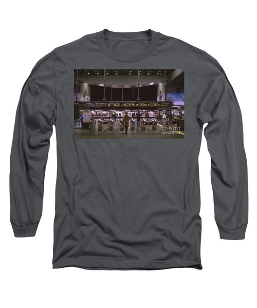 Kyoto Train Station, Japan Long Sleeve T-Shirt