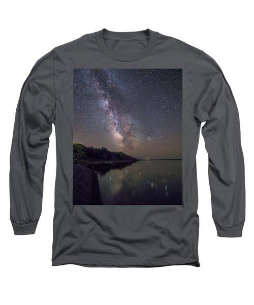 Lake Oahe  Long Sleeve T-Shirt