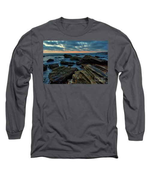 Last Light At Crystal Cove Long Sleeve T-Shirt