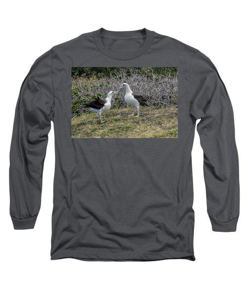 Laysan Albatross Hawaii #2 Long Sleeve T-Shirt