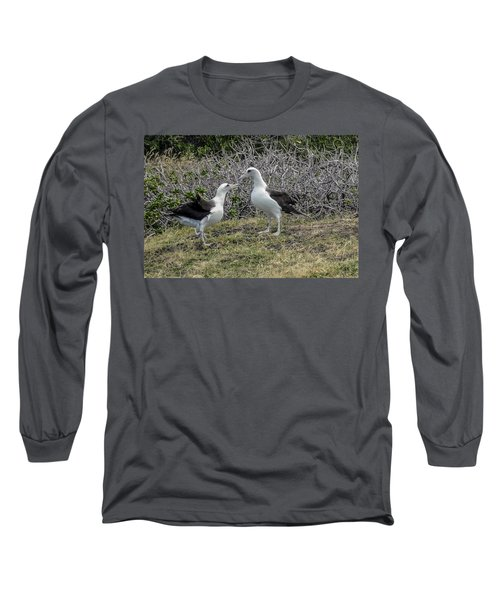 Laysan Albatross Hawaii #2 Long Sleeve T-Shirt
