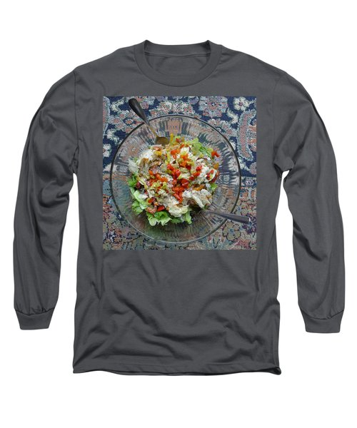 Long Sleeve T-Shirt featuring the photograph Lets Do Lunch by Joel Deutsch
