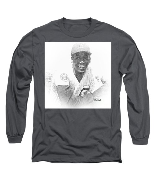 Ernie Banks Long Sleeve T-Shirt