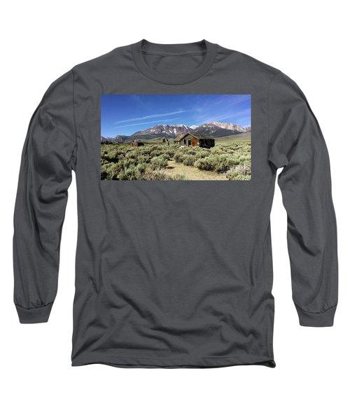 Little House Long Sleeve T-Shirt by Joseph G Holland