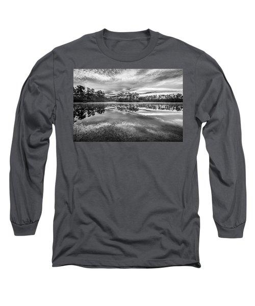 Long Pine Bw Long Sleeve T-Shirt by Jon Glaser