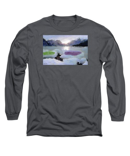 Looking Out Into The Bay Long Sleeve T-Shirt