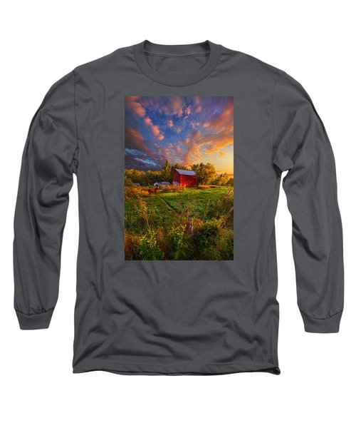 Long Sleeve T-Shirt featuring the photograph Love's Pure Light by Phil Koch