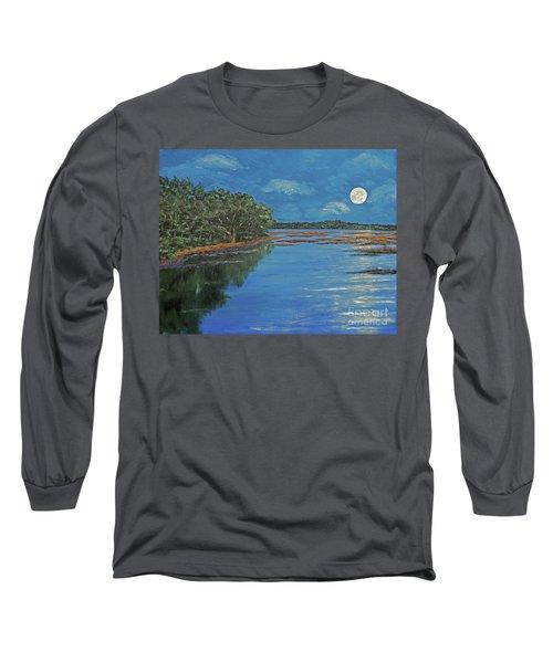 Lowcountry Moon Long Sleeve T-Shirt