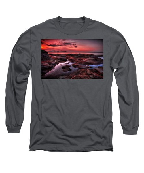 Madrona Long Sleeve T-Shirt by Randy Hall