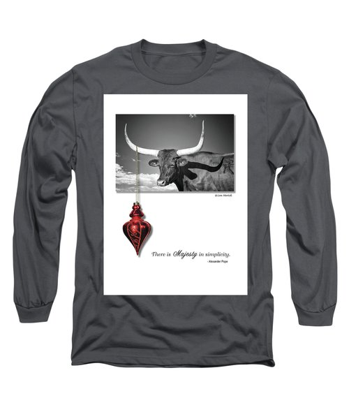 Majesty In Simplicity Long Sleeve T-Shirt