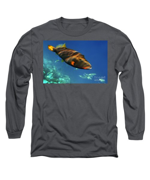 Long Sleeve T-Shirt featuring the photograph Maldives by Juergen Held