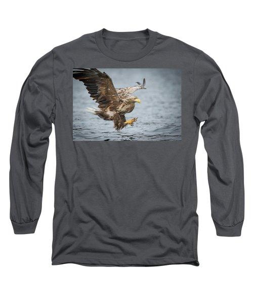 Male White-tailed Eagle Long Sleeve T-Shirt