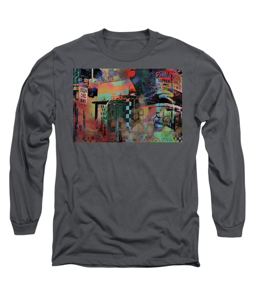Minneapolis Collage Long Sleeve T-Shirt