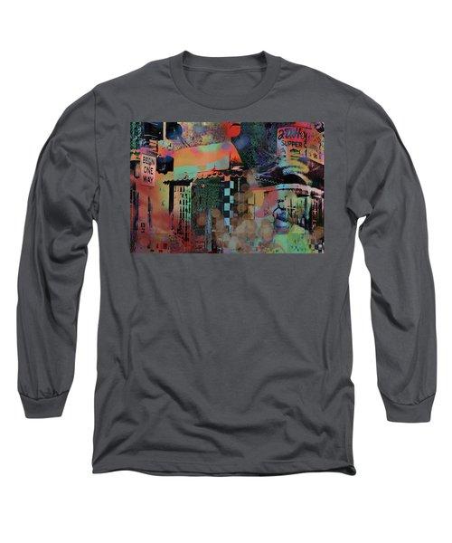 Minneapolis Collage Long Sleeve T-Shirt