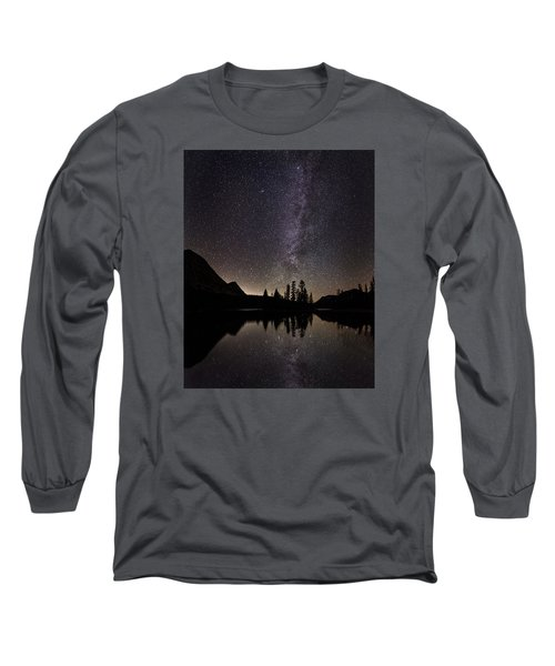 Mirror Lake Milky Way Long Sleeve T-Shirt