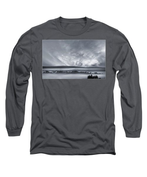Misty Morning Long Sleeve T-Shirt by Vladimir Kholostykh