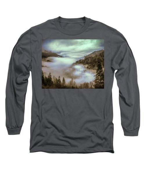 Morning Mountains II Long Sleeve T-Shirt