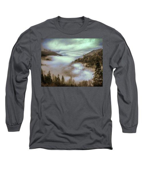 Morning Mountains II Long Sleeve T-Shirt