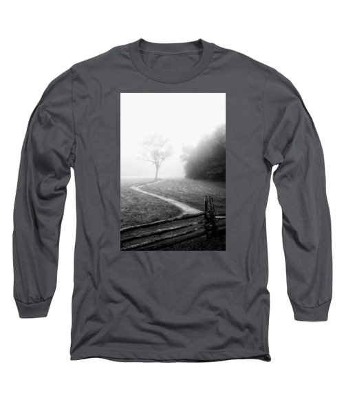 Morning Path Long Sleeve T-Shirt by Deborah Scannell