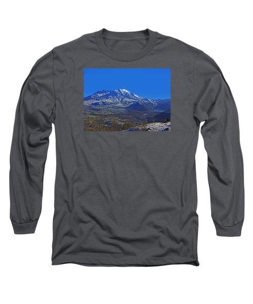 Mt St Helens Long Sleeve T-Shirt
