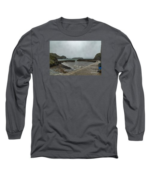 Long Sleeve T-Shirt featuring the photograph Mullion Cove by Brian Roscorla