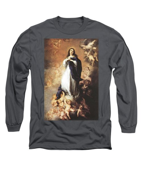 Murillo Immaculate Conception  Long Sleeve T-Shirt