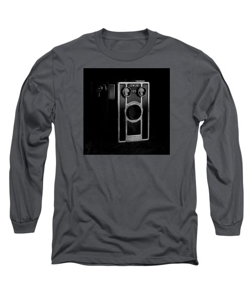 Long Sleeve T-Shirt featuring the photograph My Dad's Camera by Jeremy Lavender Photography